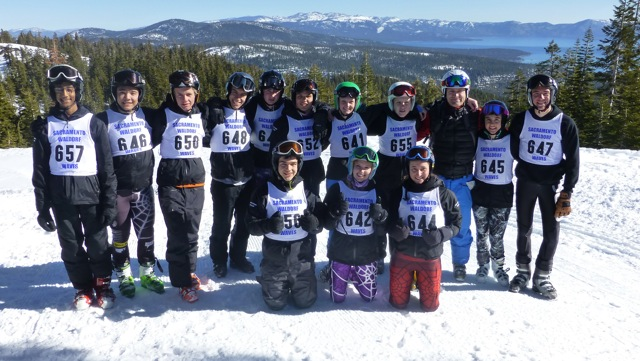 SWS SKI TEAM PICTURE