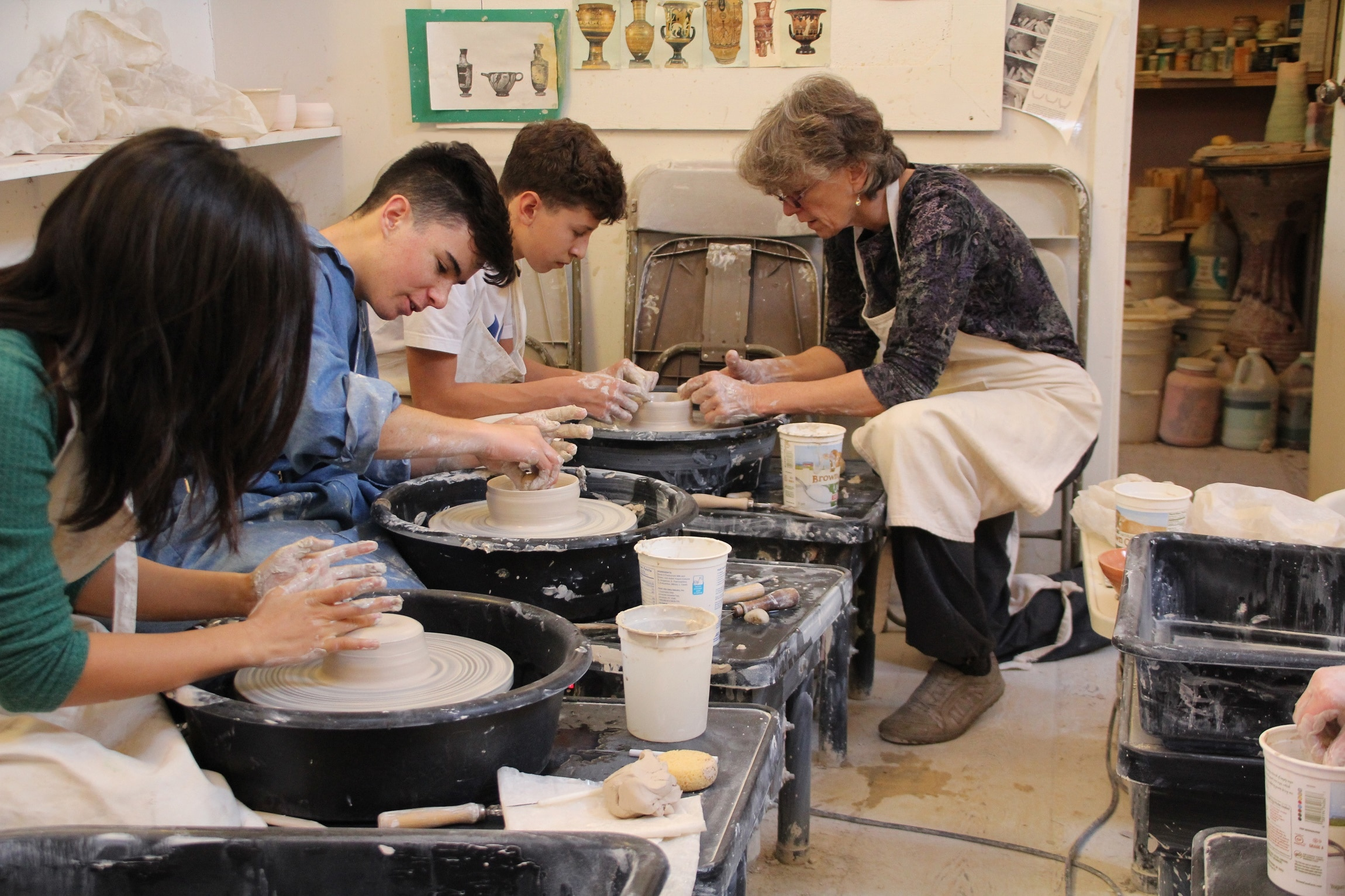 Grade 10 Working with Clay